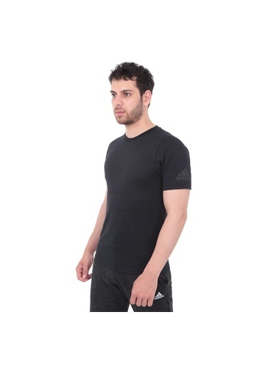 adidas Adidas Erkek Günlük T-Shirt Du1119 Id Jqrd Tee Siyah